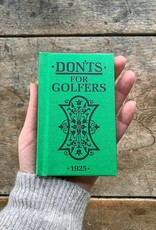 MacMillan Don'ts for Golfers