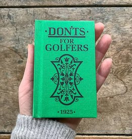 The Birch Store Don'ts for Golfers