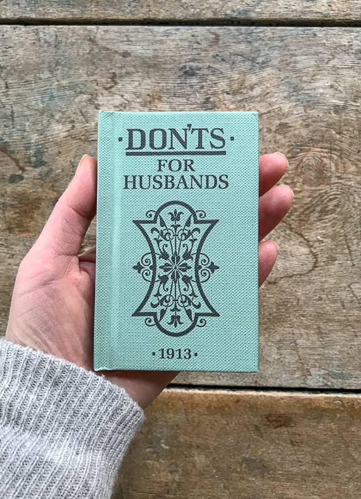 The Birch Store Don'ts for Husbands