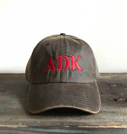 The Birch Store Brown Wax ADK Cap