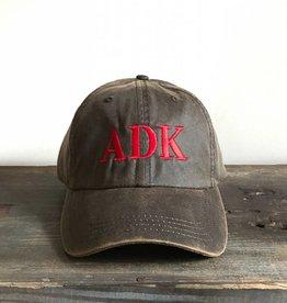 The Birch Store Brown Wax ADK Cap