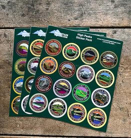 The Birch Store ADK High Peaks Sticker Pack