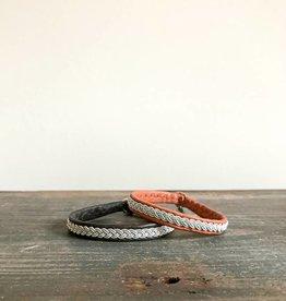 Cose Nuove Silver & Leather Bracelet