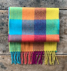 The Birch Store Circus Plaid Merino Scarf