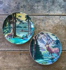 The Birch Store Deer Print Plate Set