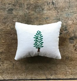 The Birch Store Locally Made Tree Embroidered Balsam Pillow