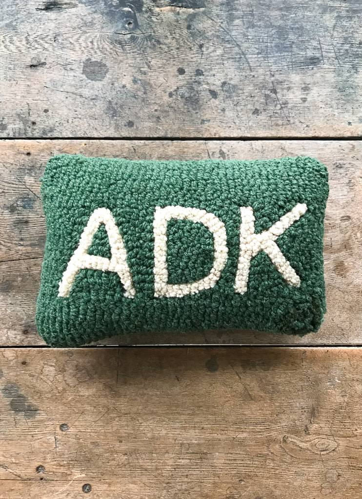 The Birch Store ADK Hooked Pillow