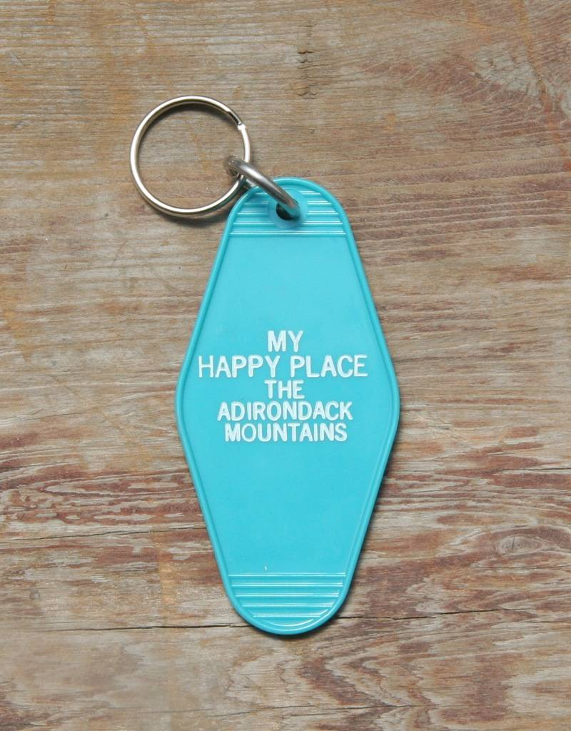 The Birch Store My Happy Place Key Tag