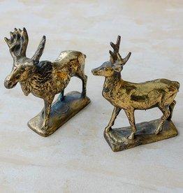 The Birch Store Bronze Moose & Deer