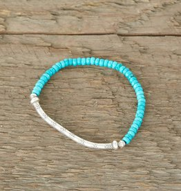 The Birch Store Turquoise & Silver Bracelet