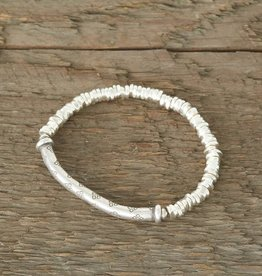 The Birch Store Hill Tribe Silver Bar Bracelet