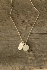 The Birch Store Gold Compass Necklace