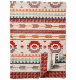 The Birch Store Arrow Lambs Wool Throw