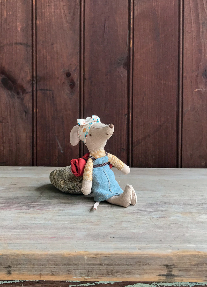 The Birch Store Hiker Mouse in Dress