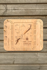 The Birch Store Ausable Lakes Cribbage Board