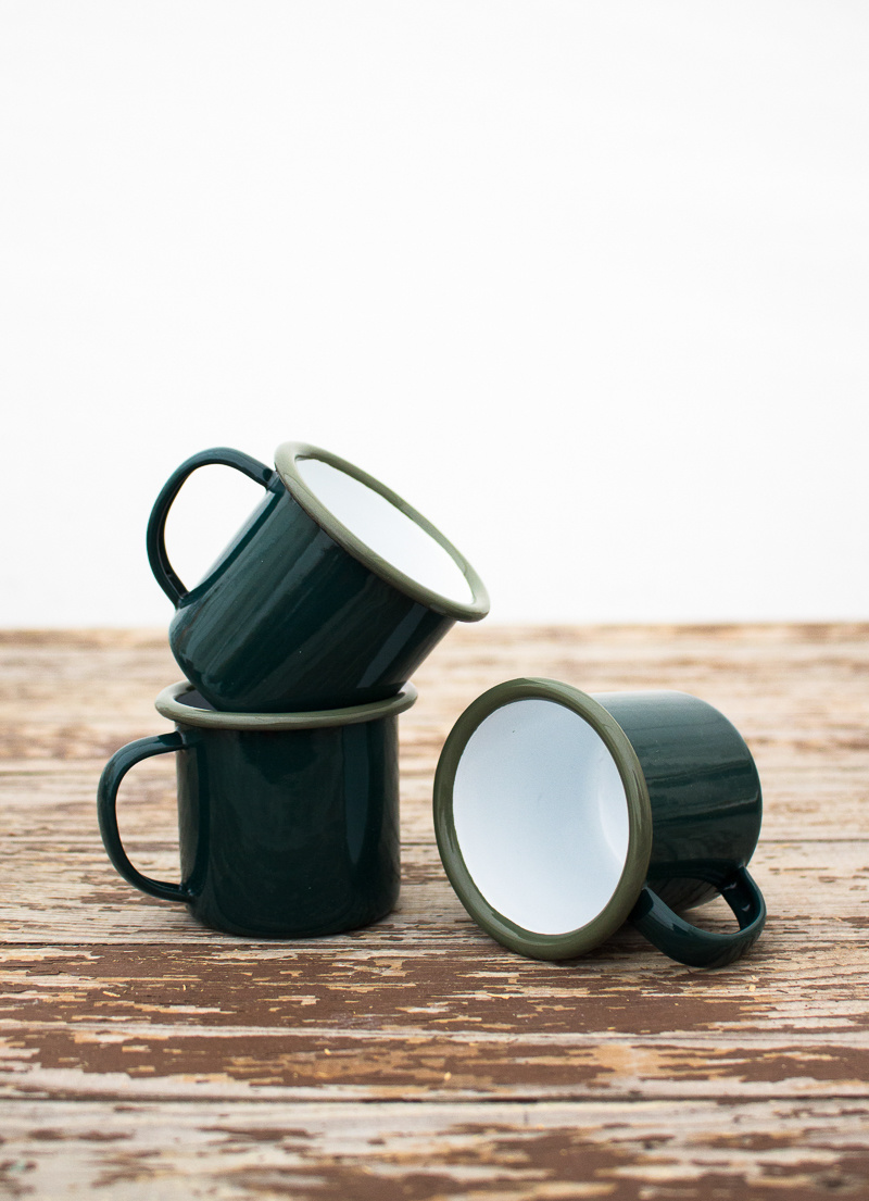 The Birch Store Enamelware Espresso Cup