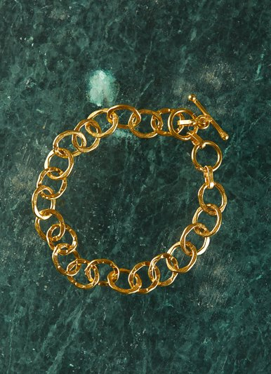 The Birch Store Cirque Bracelet Gold Plated Linked Rings
