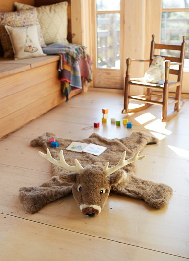 The Birch Store Deer Rug