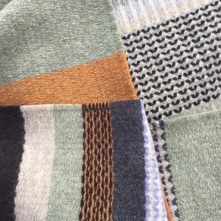 The Birch Store Diffusion Woven Merino Scarf
