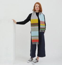The Birch Store Diffusion Woven Merino Scarf
