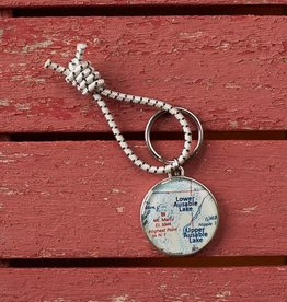 The Birch Store Ausable Lakes Key Ring