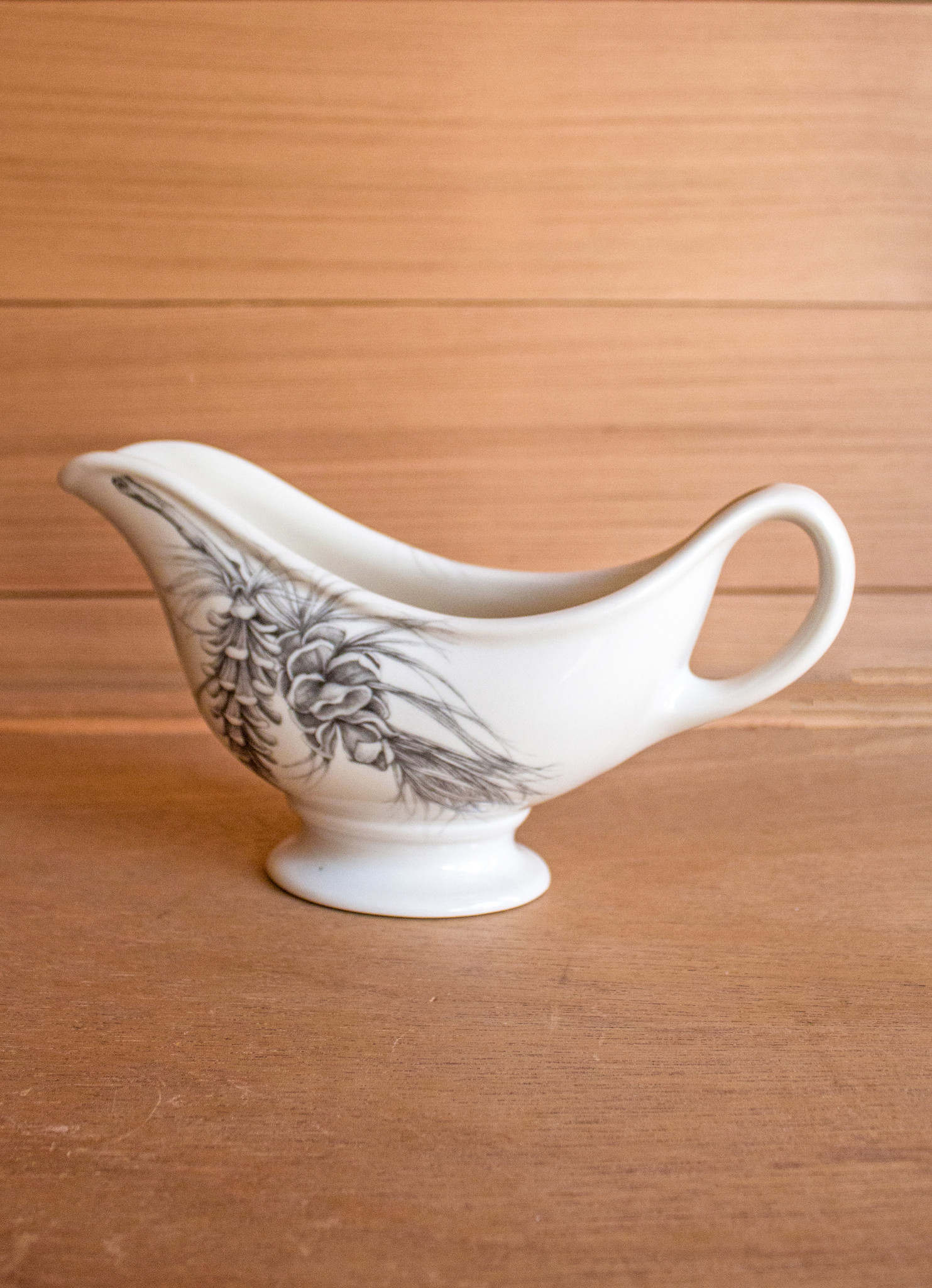 The Birch Store Pine Branch Sauce Boat