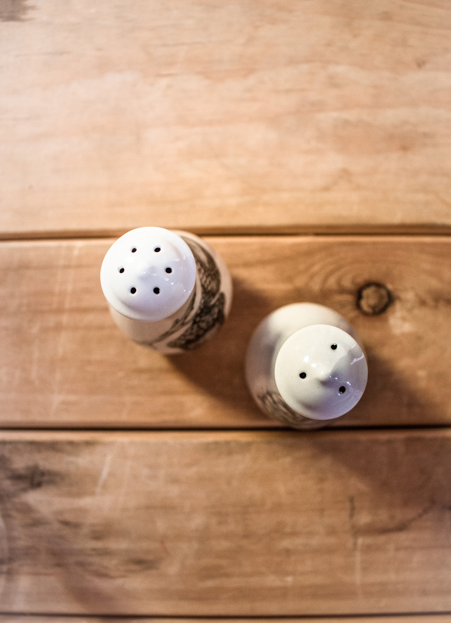 The Birch Store Acorn & Pine Cone Salt & Pepper Shakers