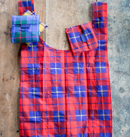 The Birch Store Tartan Foldable Reusable Bag