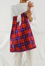The Birch Store Tartan Foldable Reusable Bag