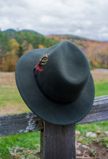 The Birch Store Train Station Evergreen Felt Hat