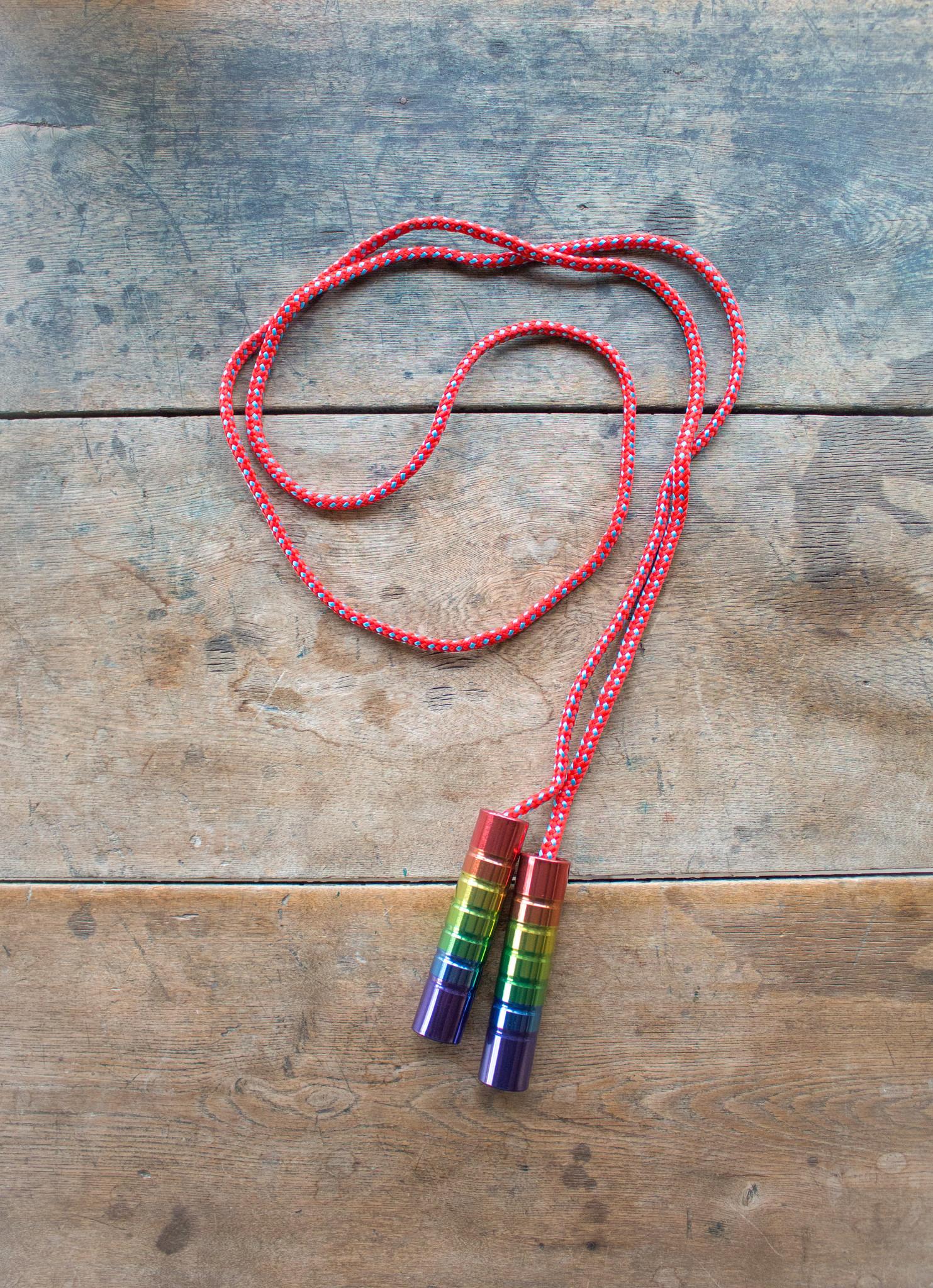 The Birch Store Rainbow Tin Jump Rope