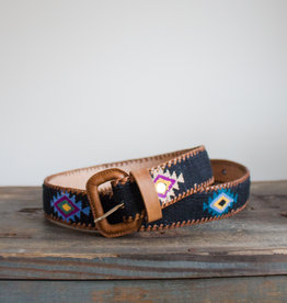 The Birch Store Woven Navajo Design Belt