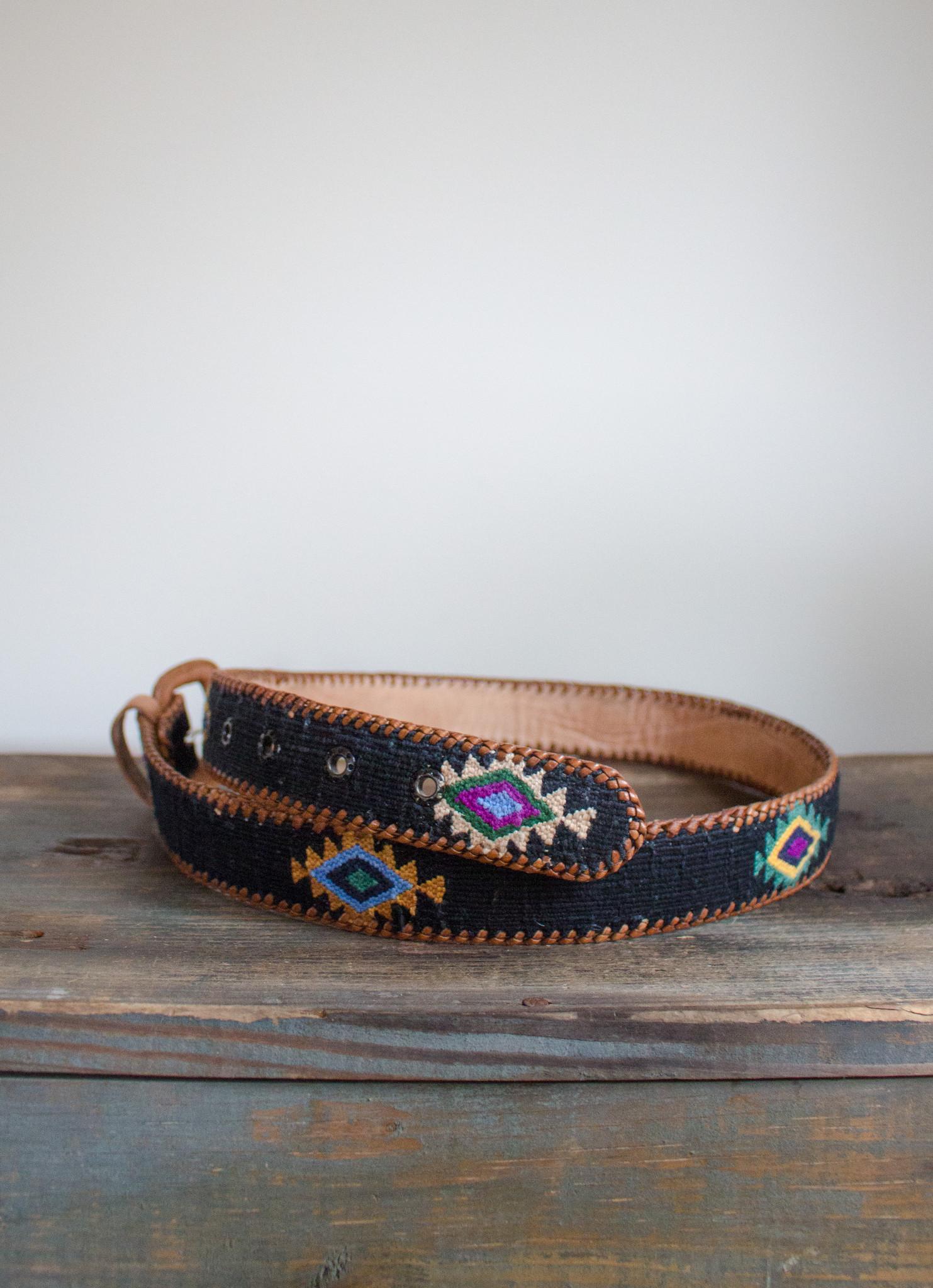 The Birch Store Woven Navajo Design Belt