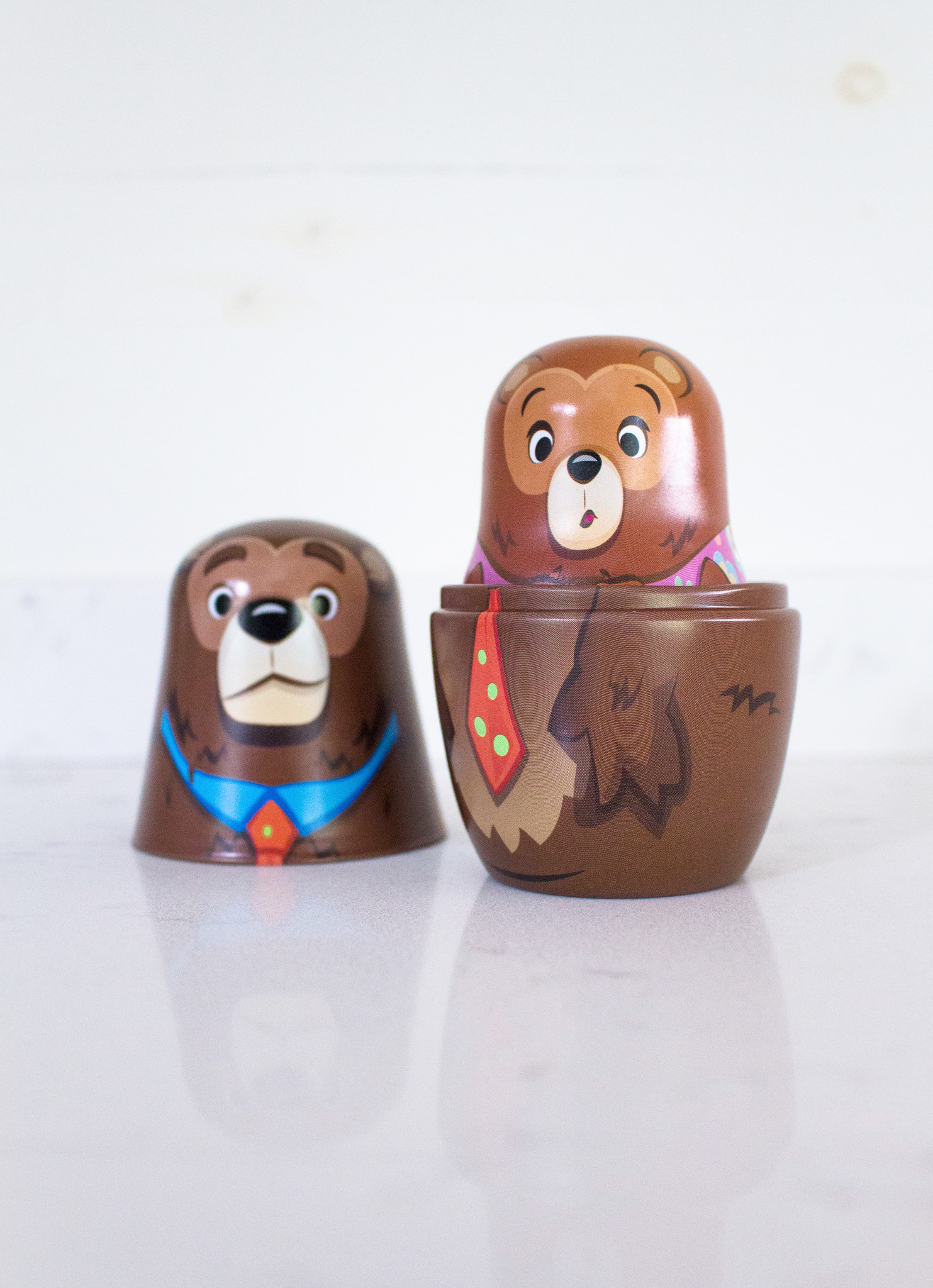 The Birch Store Goldilocks Nesting Dolls