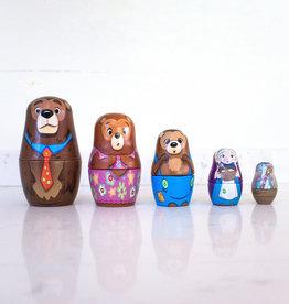 The Birch Store Goldilocks Nesting Dolls