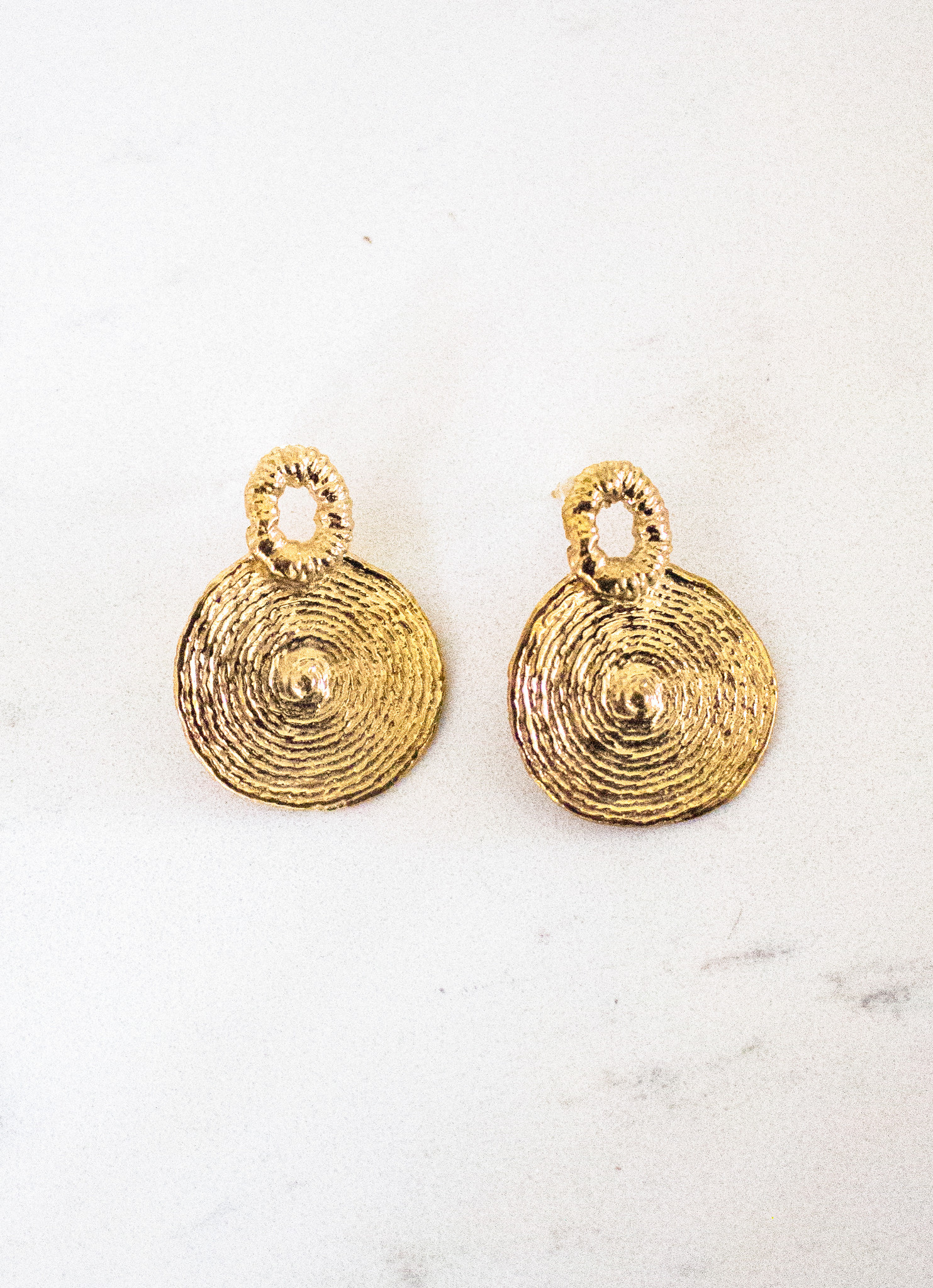 The Birch Store Spiraled Gold Earring