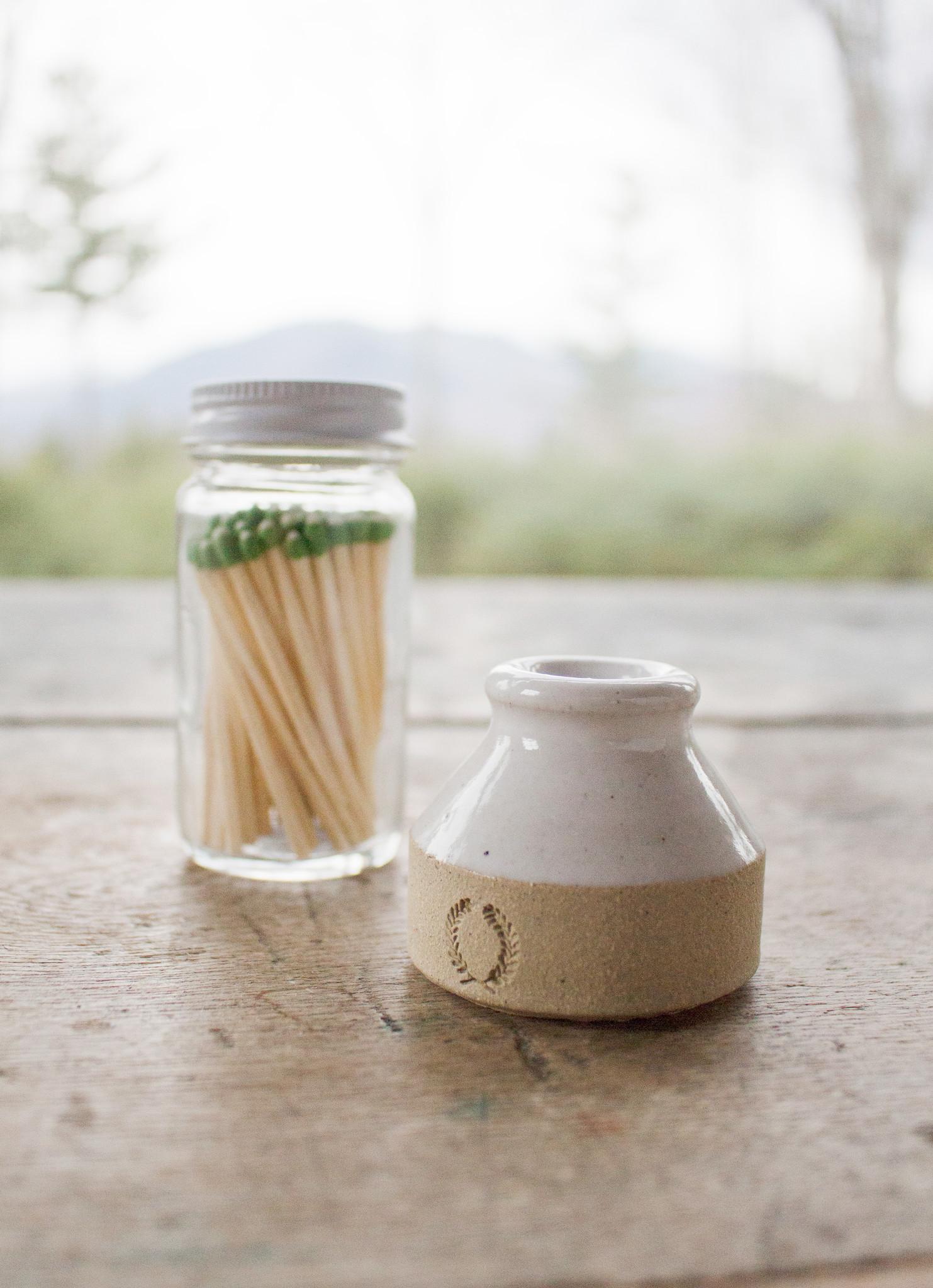 The Birch Store Milk Bottle Match Striker