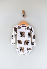 The Birch Store Raccoon Bamboo Onesie