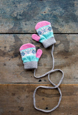 The Birch Store Lambswool Toddler Mittens Pink