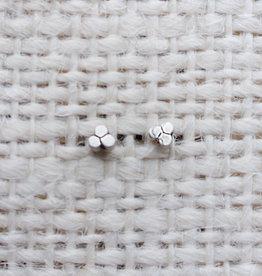 The Birch Store Triple Disc Mini Stud Earring