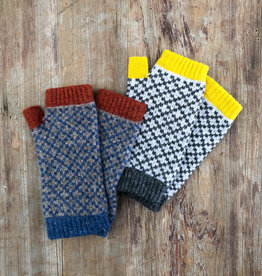 The Birch Store Patterned Lambswool Wrist Warmer