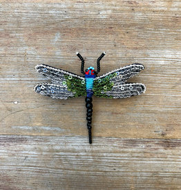 The Birch Store Beaded Dragonfly Brooch