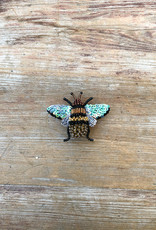 The Birch Store Beaded Honey Bee Brooch