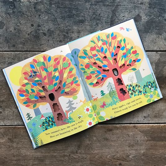 The Birch Store Tree - A Peek Through Book