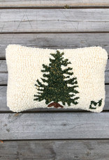 The Birch Store Little Tree Hooked Pillow