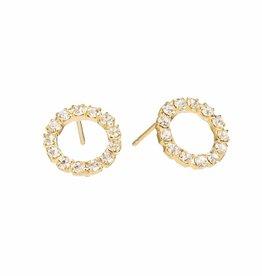 The Birch Store Swarovski Post Earrings