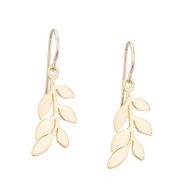 The Birch Store Gold Leaf Earrings