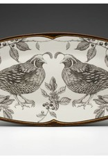 The Birch Store Oblong Quail Platter