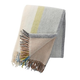 The Birch Store Klippan Textiles Birka Natural Throw