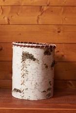 The Birch Store Rustic Birch Waste Basket